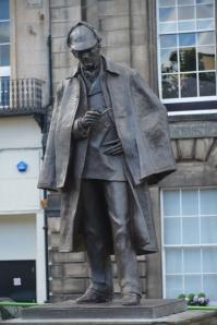 Sherlock Holmes Statue, Edinburgh (Kurtz Detektei)